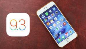 iOS 9.3 güncellemesi donduruyor