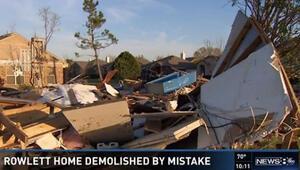 Google Mapse güvendiler, yanlış evi yıktılar