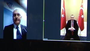 4.5 Gnin ilk denemesini Cumhurbaşkanı Erdoğan ve Bakan Yıldırım yaptı