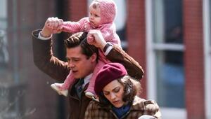 Brad Pitt ve Marion Cotillardlı filmden görseller