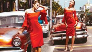 Serdar Ortaç'ın eşi model Chloe Loughnanın bir ayağıAmerika'da