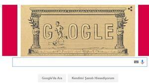 Modern Olimpiyatlar bugün Doodle oldu Modern Olimpiyatlar bakın neden Doodle oldu
