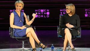 Ünlü sunucu Megyn Kellyden Dünya Kadınları Zirvesinde Trump eleştirisi