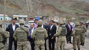CHP heyeti Yüksekovaya alınmadı