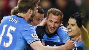 Tottenhamdan 4 gollü zafer