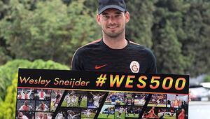 Sneijder 500. maçına çıkıyor