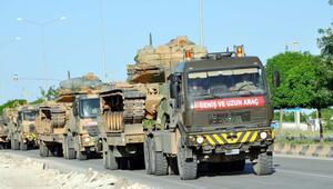 Sınırda alarm: Tanklar kritik bölgede