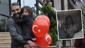 Caner Erkin ile Asena Atalay oğulları Çınar için buluştu