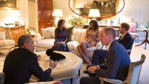 Obama çiftinin ziyaretinde skandalın eşiğinden dönüldü