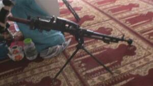 PKKlılar cami içinde bomba hazırladı