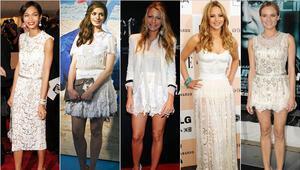 Beyaz elbiselerle hangi aksesuarlar kullanılır