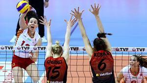 VakıfBank: 3 - Galatasaray Daikin: 2