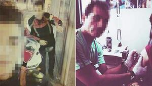 Ortaokul öğrencisine dövmecide tecavüz iddiasına 2 tutuklama
