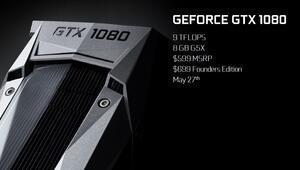 NVIDIA GeForce GTX 1080'i tanıttı