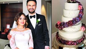 Tarkanın düğün pastası olay oldu