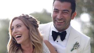 Sinem Kobal ve Kenan İmirzalıoğlunun düğün fotoğrafları ses getirdi