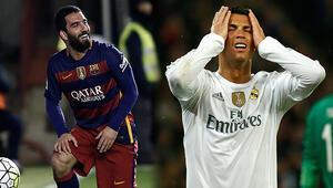Arda Turan Ronaldoyu geçti