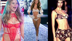 Dünden bugüne Victorias Secret mankenleri