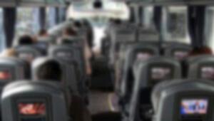 Metro otobüsünde akılalmaz olay