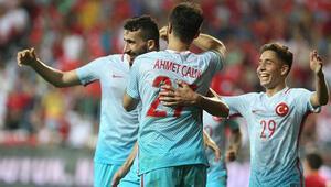 Türkiye Karadağı 90+4te geçti - (Maç özeti)