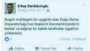 İstanbulun fethini eleştiren profesör açığa alındı