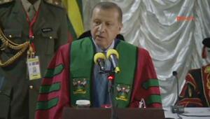 Cumhurbaşkanı Erdoğan: Ugandada büyük bir alan istedim