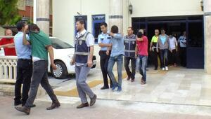 Serik'te kız çocuğuna tecavüze 9 gözaltı