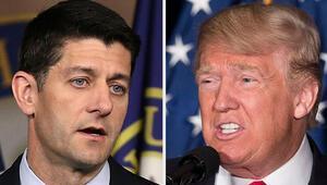 Paul Ryan'dan Donald Trump'a sürpriz destek