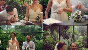 Şebnem Hassanisoughi evlendi