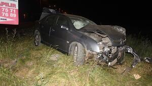 Kazada kalbi durdu