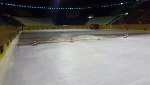 Buz eridi parke kabardı