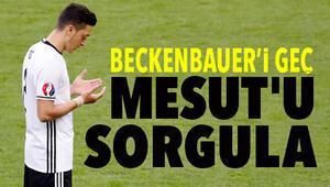 Mesut Özile milli marş tepkisi