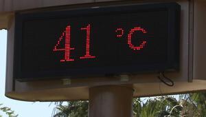 Adanada termometreler 41 dereceyi gösterdi