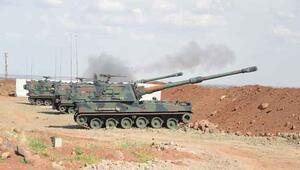Türk ordusu, IŞİD hedeflerini vurdu