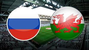 Rusya 0-3 Galler / MAÇIN ÖZETİ
