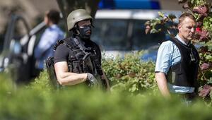 Almanyada silahlı saldırı... Saldırgan öldürüldü, yaralı yok