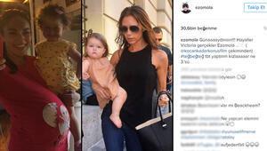 Ezgi Moladan rekor kıran Victoria Beckham paylaşımı