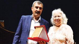 'Kansu Ödülü' Mehmet Ercan'ın