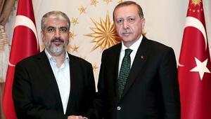 Cumhurbaşkanı, Hamas lideri Meşalle görüştü