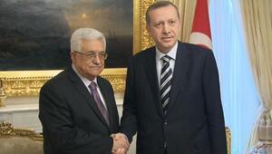 Cumhurbaşkanı Erdoğan, Filistin lideri Abbasla görüştü