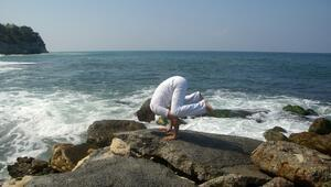 Yoga Festivalinde yaşamı kutla