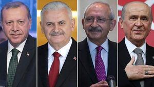Liderler bayram namazı çıkışı açıklama yaptı