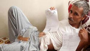 Kanser hastası emekliye 6 bin liralık pardon şoku