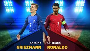 Finalde Ronaldo - Griezmann kapışması