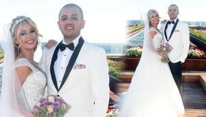 Buse Arslan evlendi