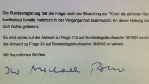 İşte Alman Dışişleri'nin, 'Türkiye güvenli ülke mi' sorusuna verdiği yanıt