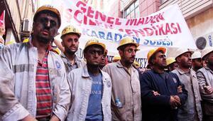 Özelleştirme iddiaları madencileri ayağa kaldırdı
