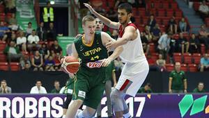 Milliler yarı finalde Litvanyaya kaybetti