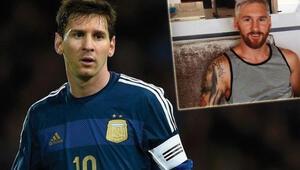 İşte saçlarını boyatan Messi için yapılan ilginç capsler