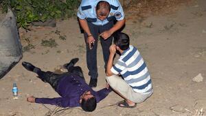 Polisten yaralı gence: Sakın uyuma, bizimle konuş